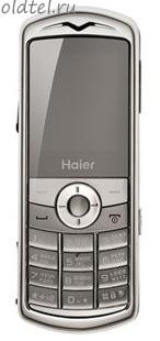 Haier M500 Silver Pearl